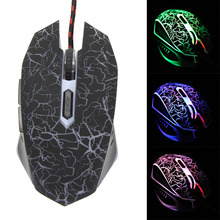 Backlight Optical Gaming Mouse 4000DPI 6 Buttons USB Wired Pro Gamer Gaming Mouse Computer Mouse for PC Mac Laptop Game LOL Dota