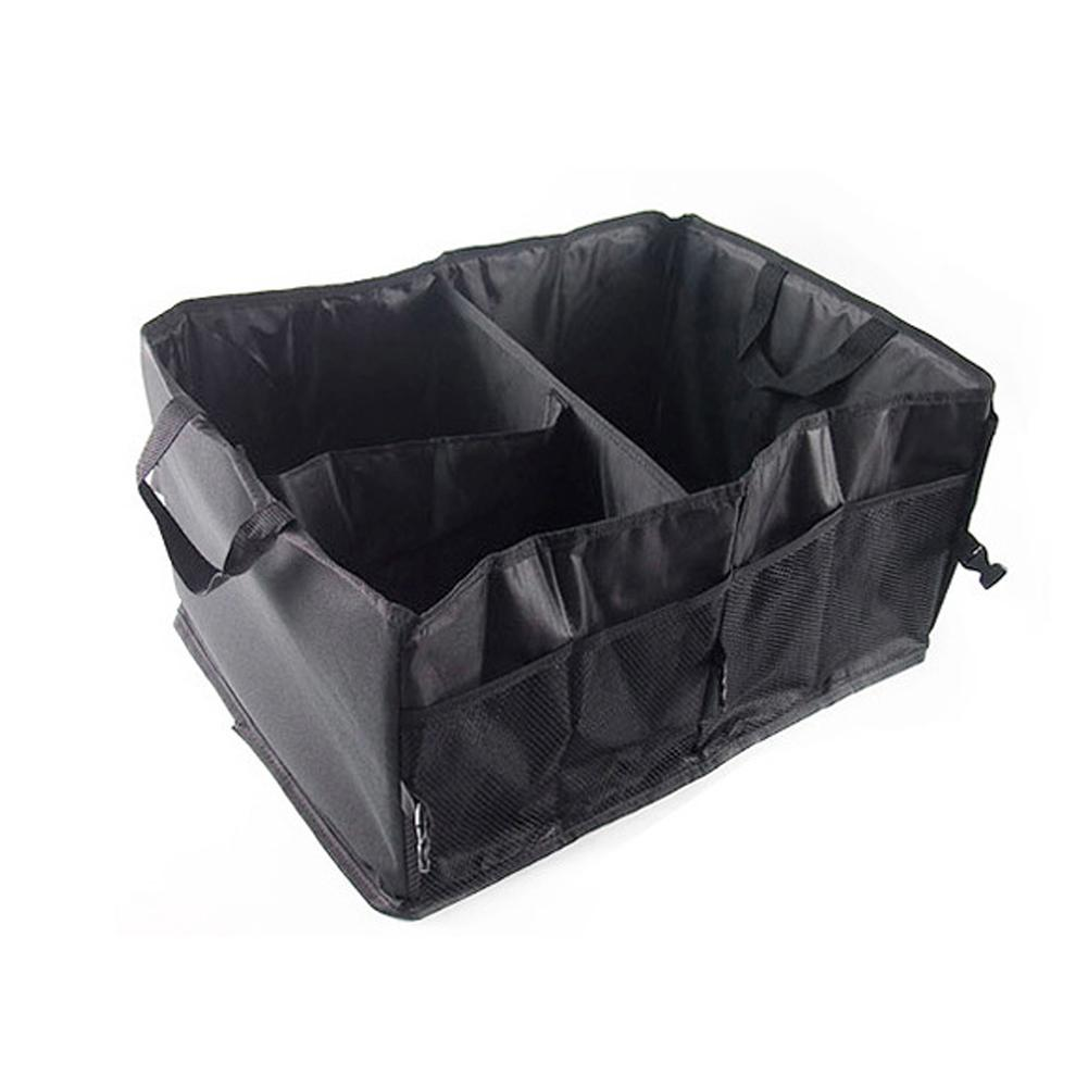 Large Capacity Car Trunk Organizer Folding Waterproof Car Storage Bag Large Storage Box Organizer For Car / Truck / SUV(China)