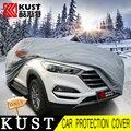 Kust nueva versión del coche cubre para hyundai tucson 2015 PVC Material de Algodón Coche Cubierta de Protección de la Superficie Del Cuerpo Para Tucson 2016