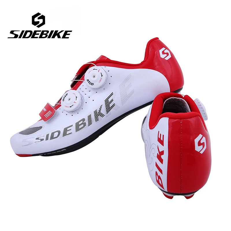 Sidebike Cycling Shoes Road Carbon Fibre Breathable Bicycle ShoesSelf-Locking Athletic...