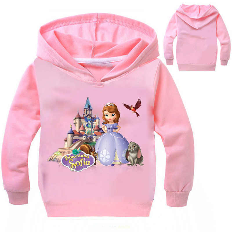 1c0dec5d17552 Detail Feedback Questions about Children 2018 New Spring Kids Girls T  Shirts Princess Sofia Clothes for Girls Sweatshirts Teens Girls Top Tees  Clothing on ...