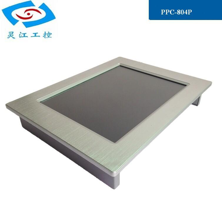 High quality 8.4 inch LCD display Fanless industrial panel pc with N2800 CPU support Wifi module