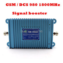 model 980 27dbm high gain 65 dbi,GSM 900Mhz Booster +DCS 1800Mhz Repeater dual band booster,dual band mobile phone booster