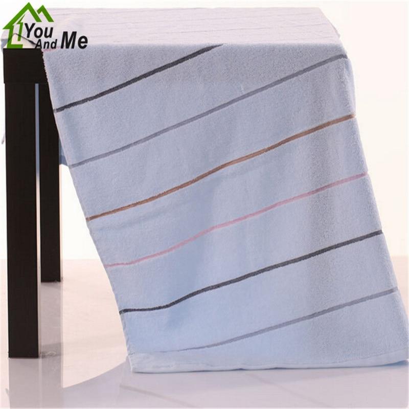 33x72 cm 100% algodón de azúcar de color stripe towel mano suave absorbente face