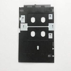 Image 4 - הזרקת דיו הדפסת אסתרא Kit 100pcs ריק הזרקת דיו PVC כרטיס + 1pc מזהה כרטיס מגש עבור Epson הזרקת דיו מדפסות A50, t50, R280,L800,L805. ..