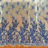 3Yards Lot Mesh Fabric Eyelashes Lace Trim High Quality Eyelash Lace Fabric Lace Handmade DIY Wedding