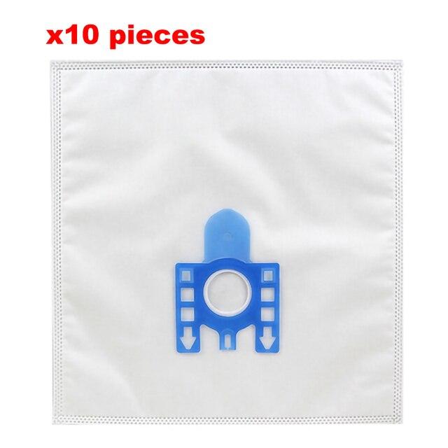 Dokuma Olmayan Kumaş Çoklu Filtre Toz elektrikli süpürge torbası Miele S2110 S421I S5280 S8330 S8340 Elektrikli Süpürge Aksesuarları