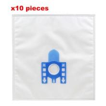 Múltipla Filtro de tecido não Tecido Saco de Pó Aspirador de pó para Miele S2110 S421I S5280 S8330 S8340 Vácuo Acessórios Mais Limpos