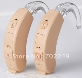 Tactical Headsets Powerful  4 Channels Digital  BTE HEARING AID Aids Sound Amplifier