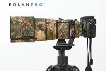 Rolanpro 렌즈 위장 코트 레인 커버 nikon AF S 300mm f/2.8g ed vr 손떨림 방지 i & ii 호환 렌즈 보호 슬리브