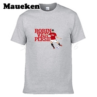 Men Robin Van Persie 20 T Shirt Clothes T Shirt Men S O Neck Tee W17082701