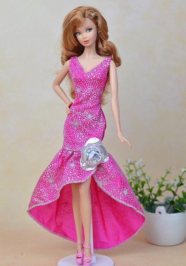Muñeca Accesorios azul ropa para Barbie Casa de muñeca vestido de ...