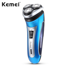 Kemei KM - 2801 Men Rechargeable Triple Floating Electric Razor Shaver Face Care Men Beard Trimmer цены онлайн