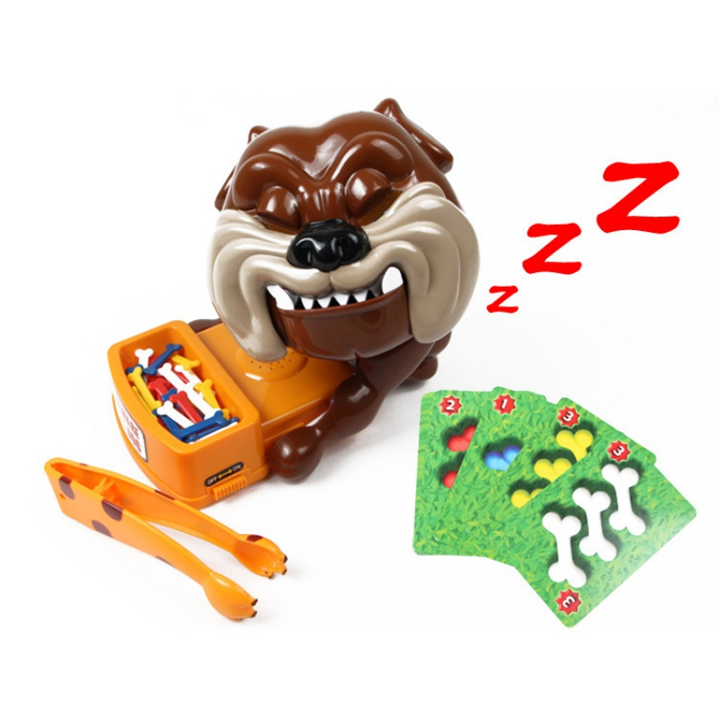 Tricky Toys Creative Toys Careful Vicious Dog Bite The Hand Paternity Interactive Games Dog Bite Interactive Toys image
