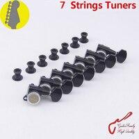 Genuine Original 7 In Line GOTOH SG381 07 MGT 7 Strings Guitar Locking Machine Heads Tuners