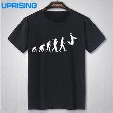 04ec58926ccbd5 EVOLUTION Basketballs T-shirt Slam Dunk Imprime T Shirts Hommes Manches  Courtes O-cou