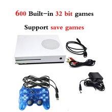 HDMI TV 32 bit Oyun Konsolları handheld Video Oyun Konsolu destek HD TV Out Dahili 600 Klasik Oyunlar Destek Kaydetmek oyunları