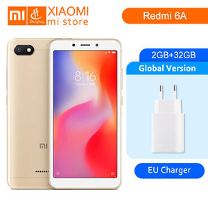 Global Version Xiaomi Redmi 6A 2 GB 32 GB 6 A Helio A22 Mobile Phone 13.0MP Rear