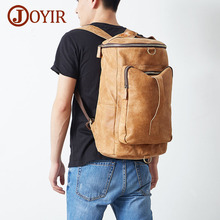 JOYIR New Arrival Genuine Leather Backpack Male Travel Multifunctional Men Laptop Backpacks Business Bolsa Masculina