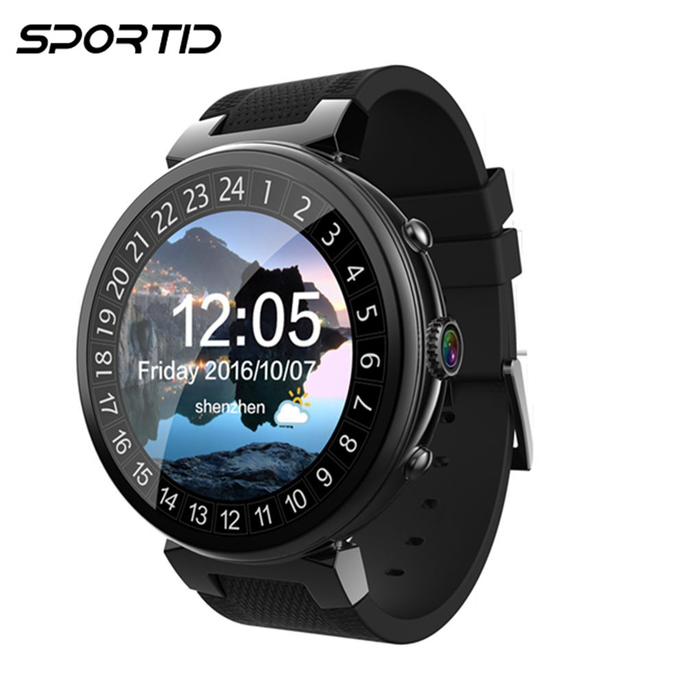 Interpad Original Creative Smart Watch Men Android 5.1 MTK6580 Quad Core 1.3GHz 2GB 16GB Support 3G GPS WIFI Smartwatch Women interpad dm98 smart watch big screen 2 2 inch ips hd huge 900mah battery android phone clock support gps wifi sim smartwatch
