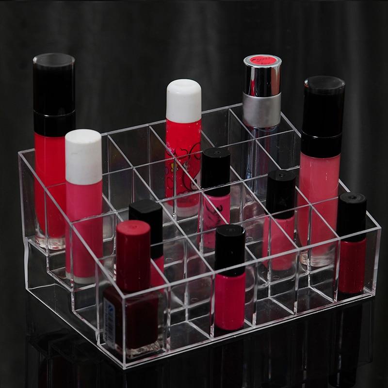 Lipstick Makeup Boxes Plastic Lip Balm Storage Tools