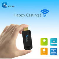 AIR PLAY Ezcast 2.4G+5G wireless hdmi wifi display allshare Adapter TV stick Receiver Support windows ios andriod vs chromecast