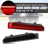2pcs LED Rear Bumper Reflector Car Third Brake Light Barn Door High Mount Tail Stop Third Level Light Lampfor VW T5 T6 2003 2016