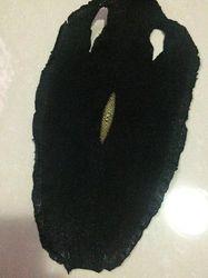 Standardowe prawdziwej czarny kolor Stingray skóry dla torba torebka Watchband DIY
