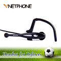 Cascos Moto Ktm Helmet Referee Headset Monaural Earhook Earphone Speaker For Football Soccer Arbitration And For Instructor