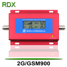 Cellphone GSM Booster New 2G GSM900 MHz Signal Repeater Amplifier for Mobile Phone GSM900MHz Red Color Cheap Price Wholesale