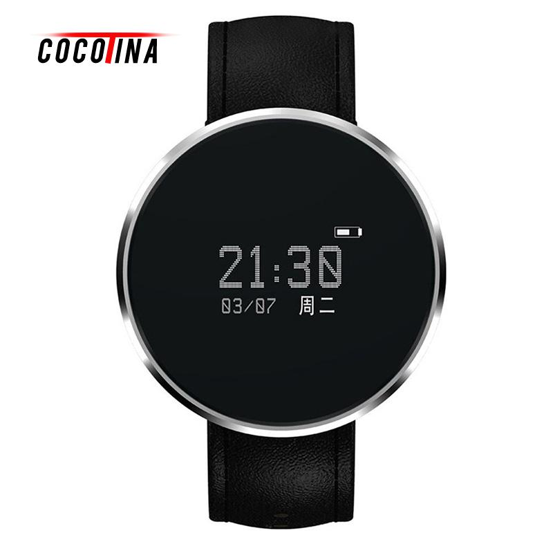 COCOTINA Bluetooth Smart Watch with Heart Rate Monitor for Android IOS Phone LSB01278 f2 smart watch accurate heart rate statistics i bluetooth watch compatible android smart wearable ios system