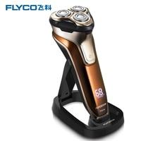 Precision clipper shaver electric Shaver Charging Shaver 3D Floating 3 Blade Men's Shaver Intelligent LCD
