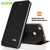 Mofi New For Xiaomi Redmi Note 5A Case Flip Luxury Leather Redmi Note 5A Pro Prime