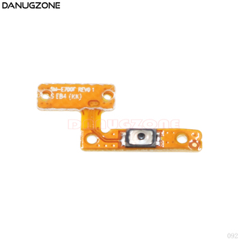 Power Button On / Off Switch Flex Cable For Samsung Galaxy E5 E5000 E7 E7000 image