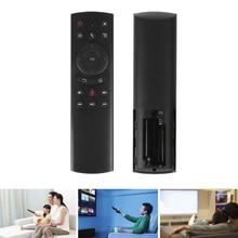 лучшая цена G20 Voice Remote Control,Smart TV Remote 2.4G Remote Control for Smart TV/Android TV Box/Projector/PC/HTPC/IPTV and Media Player