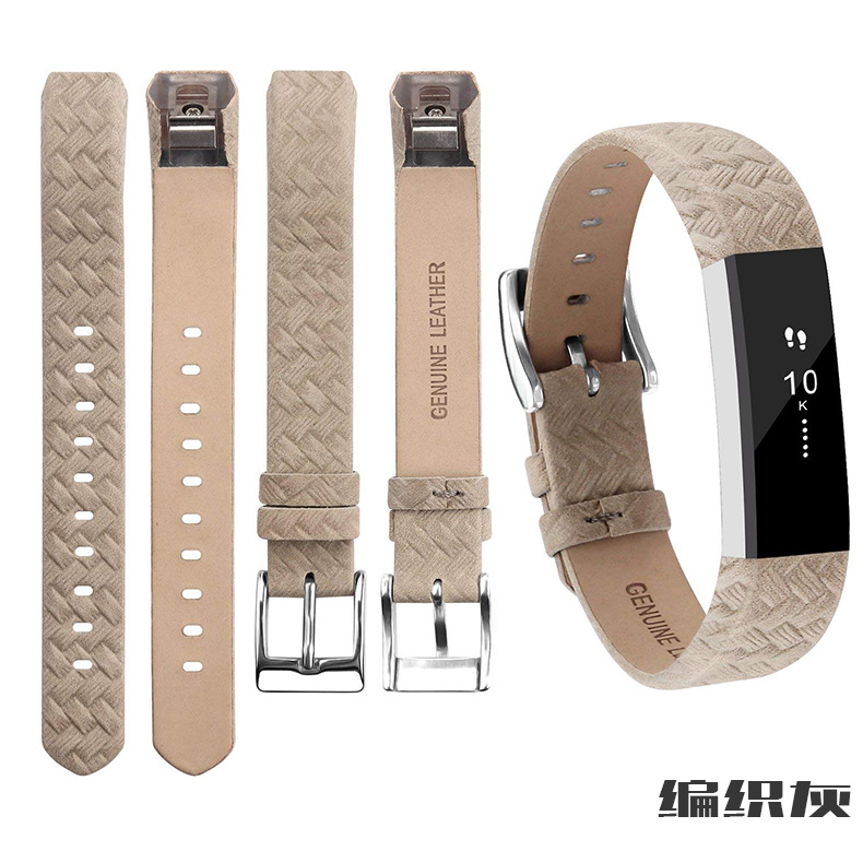 10 Colors Genuine Leather Strap For Fitbit Alta /Alta HR Watch Band High Quality Watch Strap Replacement Strap