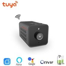 チュウヤミニ WIFI Onvif IP カメラバッテリービデオレコーダー HD 1080 ホームセキュリティ監視スマートライフアプリ Alexa google
