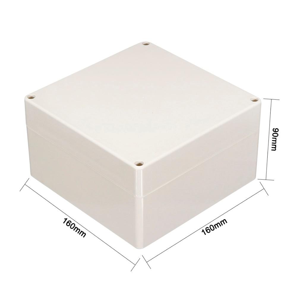 uxcell plastic ip65 waterproof junction box diy outdoor. Black Bedroom Furniture Sets. Home Design Ideas
