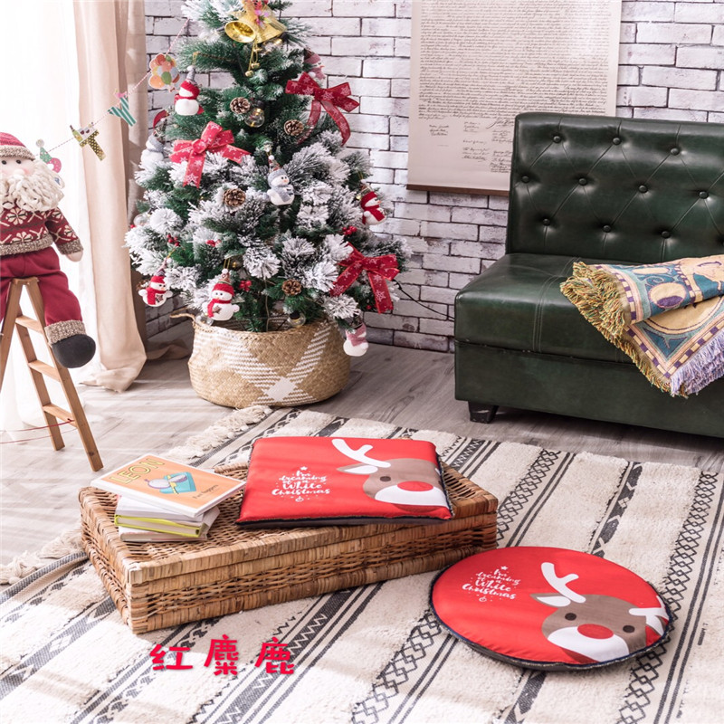Hot Sale Cheap Creative Cute Pillow Stump Coussin Round Chair Seat 1PCS Cushion Kid Kussens Sofa Throw Pillow Christmas Deals