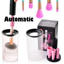 Новая модная электрическая автоматическая губка для удаления макияжа сушилка для макияжа инструменты для чистки красоты Прямая