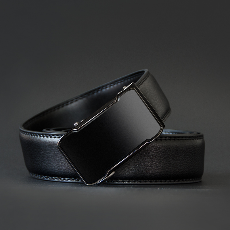 Image 3 - COWATHER Cow Genuine Leather Belt Top Quality Alloy Buckle Men Belts Automatic Buckle Cowhide Male Strap Black Brown Straps-in Men's Belts from Apparel Accessories on AliExpress