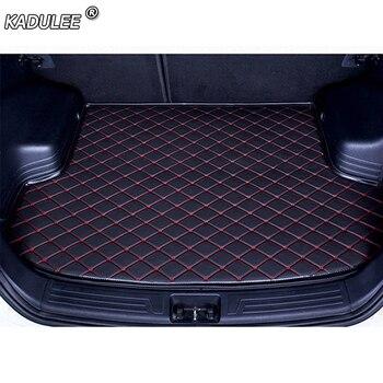 KADULEE автомобильные коврики для багажника Cadillac все модели SRX CTS Escalade ATS CT6 SLS XT5 CT6 ATSL XTS автомобильные аксессуары на заказ коврики для багажника