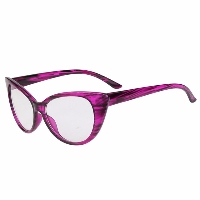 cb3ba90a05 Hot Fashion Retro Sexy Women Eyeglasses Frame Cat Eye Clear Lens lady Eye  Glasses For Women fake glasses