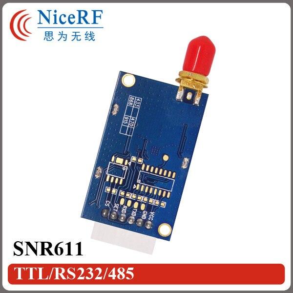 2 Puerto RS485 unids/pack 915 MHz 100 mW 1400 m de Largo Alcance A Distancia Inalámbrico RF Módulo SNR611 Uso para la Seguridad sistemas
