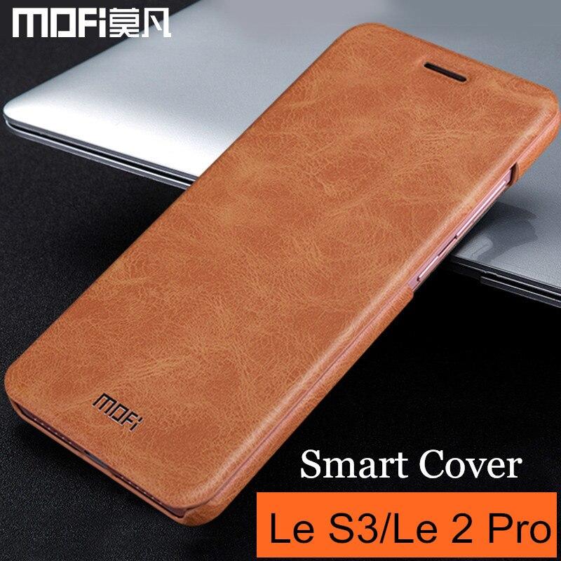 Coque MOFi Leeco Le S3 x622 x626 Leeco Letv Le 2 Pro coque flip coque Le2 X620 x520 x526 x527 coque arrière cuir smart cases