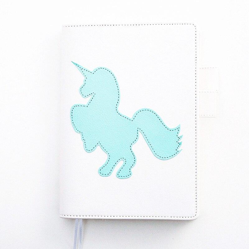 Lovedoki Notebook coreeană proaspătă Unicorn A5A6 personale - Blocnotesuri și registre - Fotografie 4