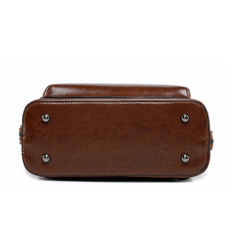 F FPY, Брендовые женские рюкзаки, винтажные женские рюкзаки с заклепками в виде буквы V, дорожная сумка на плечо, кожаный рюкзак для подростков, рюкзак школьный для ноутбука - 5