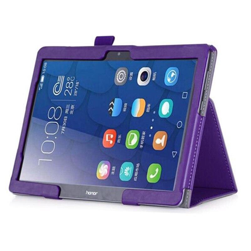 Für Huawei MediaPad T3 10 (9,6 zoll) AGS-L09 AGS-W09 Honor Spielen Tablet Fall 360 Rotierenden Halterung Schlag-standplatz-leder-abdeckung