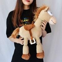 Free Shipping 52cm Plush Bullseye The Horse Figure Soft Kids Doll For Children's Gift