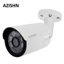 "AZISHN 4MP IP Camera ONVIF H.265/H.264 25fps Surveillance Outdoor IP66 metalen CCTV Camera Hi3516D + 1/3 ""OV4689 6 stks ARRAY LEDS"